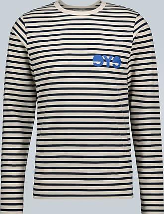 Junya Watanabe MAN x Merz b. Schwanen striped long-sleeved T-shirt