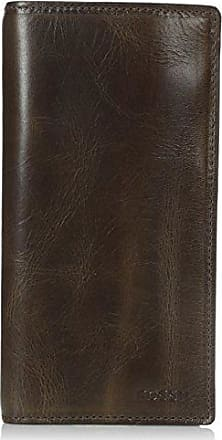 Fossil Mens Derrick Leather Executive Wallet