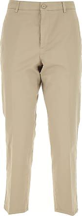 8c8c04f508616b Dondup Pantaloni Donna On Sale, Beige, Cotone, 2017, 41 42 44