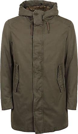 Herno Fashion Man PI0668U132177730 Green Cotton Coat | Fall Winter 20