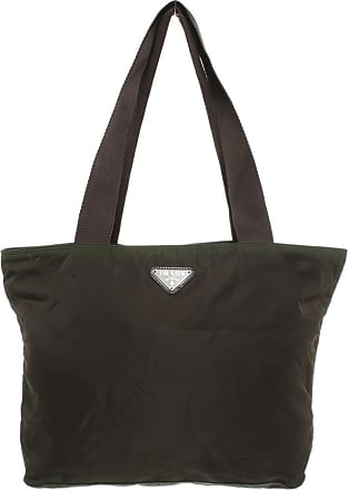 Prada gebraucht - Prada-Shopper in Braun - Damen - Synthetik