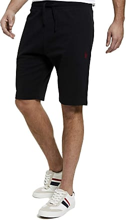 U.S.Polo Association U.S. Polo Assn Mens Core Sweat Shorts - Black - XX Large