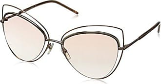 f2d0fdf0dedc Marc Jacobs Womens Marc8s Cateye Sunglasses, Gold Copper/Pink Beige, 56 mm