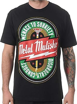 DEAD ZONE ATHLETIC Metal Mulisha Herren T-Shirt grau