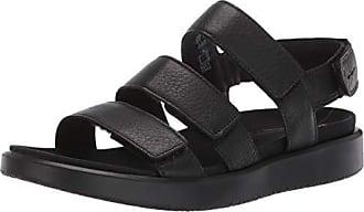 Ecco Womens Womens Flowt 3 Strap Sandal Black 36 M EU (5-5.5 US)