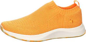 Tamaris Low Shoes for Women 1-24711-25, Size:6.5 UK, Colour:Orange