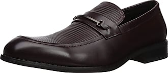 Unlisted by Kenneth Cole Mens Voyage Loafer B, Mahogany, 9.5 UK