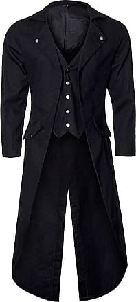 Banned Unisex-Adults Frock Tail Coat - Medium, Black