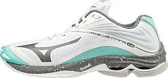 Mizuno Womens Wave Lightning Z6 (w) Track Shoe, Wht/Dshadow/Aruba Blue, 11 UK
