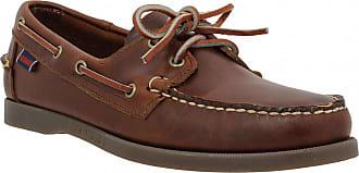 Sebago Chaussures bateaux SEBAGO Docksides cuir Homme Chocolat 8a02cbd35a04