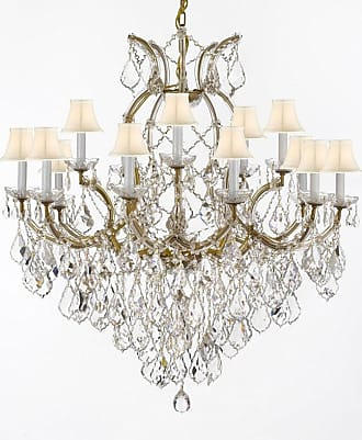 Gallery T22-2528 Maria Theresa 16 Light 37 Wide Crystal Chandelier