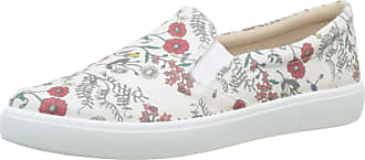 Hotter Womens Tara Slip On Trainers,Multicoloured (Meadow Floral 319),6.5 UK