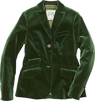Franken & Cie. Jacket velvet, bottlegreen