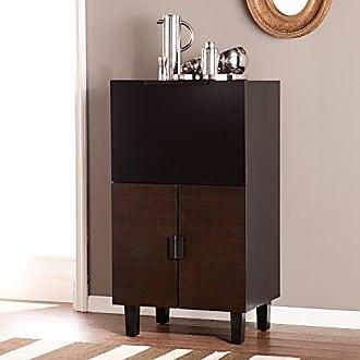 Southern Enterprises AMZ3401ZH Redding Bar Cabinet