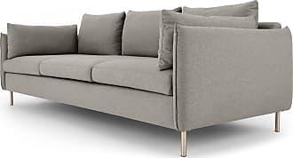 MADE.COM Vento 3-Sitzer Sofa, Manhattangrau