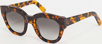 Monokel Eyewear Monokel - Cleo - Oversized cat eye-zonnebril in havana-Bruin