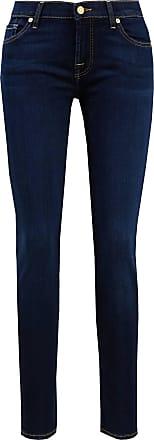 7 For All Mankind Jeans The Skinny Bair Dunkelblau