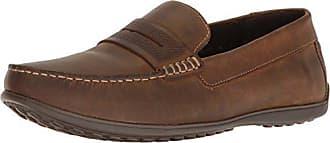 Rockport Mens Bayley Penny Shoe, camel leather, 11.5 M US