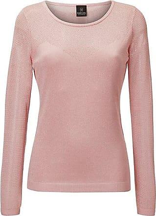 Madeleine Glänzender Pullover Damen pastellrose / rosa