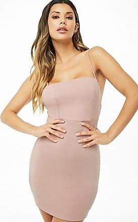 Forever 21 Forever 21 Cami Bodycon Mini Dress Mauve