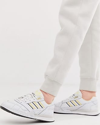 Adidas Leather Sneakers for Women − Sale: up to −60