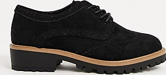 New Look chunky brogues in black