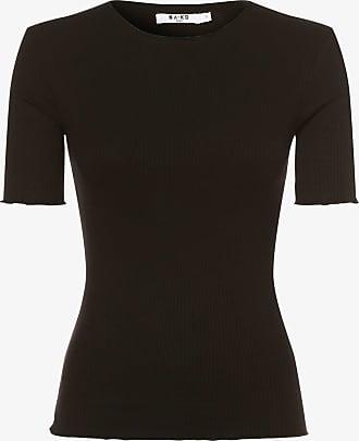 NA-KD Damen T-Shirt schwarz