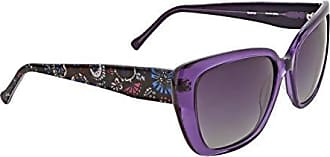 da1a49c558 Vera Bradley Womens Beatrice Polarized Cateye Sunglasses Bramble 55 mm