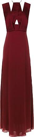 Tufi Duek Vestido longo de seda - Vermelho