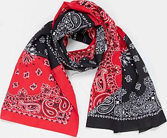 Infielder Design Bandana Stole Red & Black