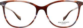 Ana Hickmann Óculos de Grau Ana Hickmann Ah6340 E04/54 Marrom/azul