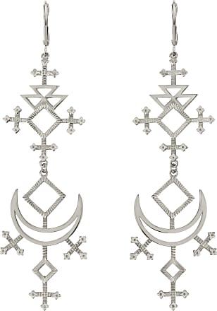 Zoe & Morgan Lunja Ohrringe Silber - one size | sterling silver | silver - Silver/Silver
