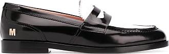 Msgm bi-colour penny loafers - Black