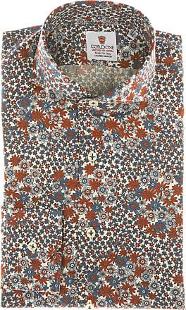 Cordone 1956 Camicia sartoriale Mod. Forte Dei Marmi - Tessuto cotone - popeline - Colore bianco - Taglia 36