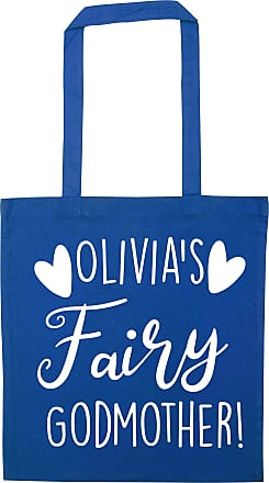 Flox Creative Blue Tote Bag Personalised Fairy Godmother T-Shirt