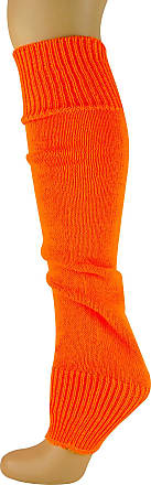 MySocks Leg Warmers Plain Neon Orange