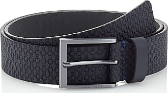 BOSS Mens Ther-hb_sz35 Belt, Blue (Navy 410), 44 (Size: 100)