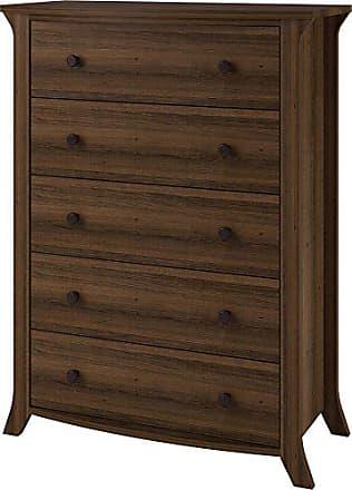 Dorel Home Products Ameriwood Home Oakridge 5 Drawer Dresser, Brown Oak