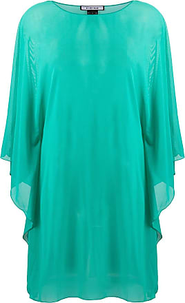 Fisico sheer floaty style tunic top - Green