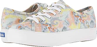 Keds Triple Kick Tie-Dye (Pink Multi Canvas) Womens Shoes