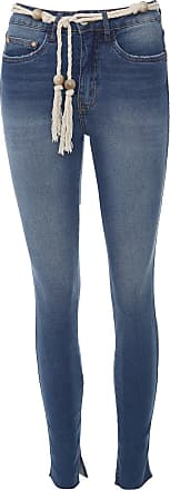 Lez a Lez Calça Jeans Lez a Lez Skinny Aruba Azul