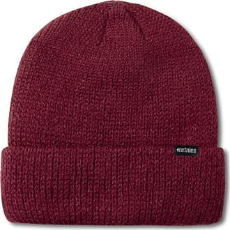 Etnies Mens Warehouse Beanie Hat, Burgundy, One Size