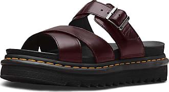 Dr. Martens Unisex Adults Ryker Open Toe Sandals, Brown (Charro Brando 211), 4 UK (37 EU)
