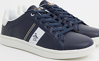 Original Penguin Steadman - Marineblaue Sneaker in Retro-Optik-Navy