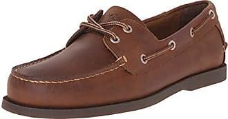 Dockers Mens Vargas Leather Handsewn Boat Shoe,Rust, 9 M US