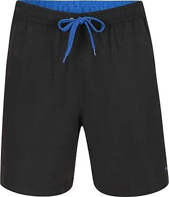 Pierre Cardin Shorts com friso Microfibra Preto M