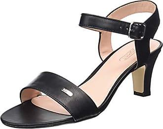 1088b0fa500ced Esprit Delfy, Sandales Bride Cheville Femme, Noir (Black 001) 41 EU