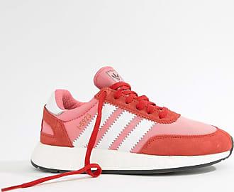 adidas Originals I-5923 - Lauf-Sneaker in Rot und Rosa
