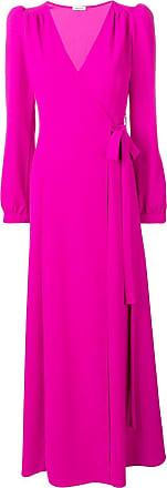 P.A.R.O.S.H. maxi wrap dress - Pink