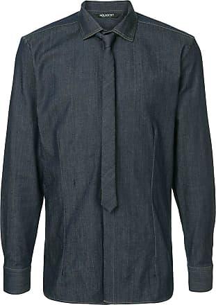 Neil Barrett Camisa mangas longas - Azul